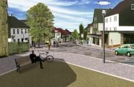 Oberes Rodachtal: Nordhalben – Projektschwerpunkt Ortseingang Lobensteiner Straße/Gollergarten