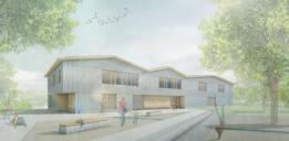 Bischofsgrün_1.Preis - Perspektive (KO/OK Architektur | Impuls° Landschaftsarchitekten)