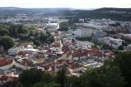 Blick auf die Kulmbacher Innenstadt