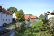 Haunstetten_drei Wasserkanäle verlaufen quer durch den Osten von Haunstetten