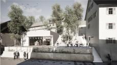 Perspektive 1. Preis: GLÖCKNER³ Architekten GmbH mit Thiele LandschaftsArchitekten GmbH