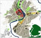 Mittleres Fuldatal: Stadtumbaugebiete in Melsungen