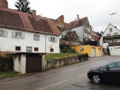 Friedberg: Lage des Gebietes unterhalb der Stadtmauer