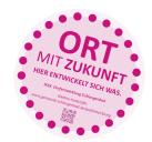 Marker im öff. Raum zur Kennzeichnung besonderer Entwicklungsorte · IKEK Schlangenbad