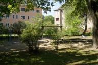 Berlin Cité Pasteur: Grünfläche im Bearbeitungsgebiet