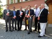 Nördliches Fichtelgebirge: Pressetermin mit Bürgermeistern zur Vorstellung des zweiten »Einkaufsverführers« 2013