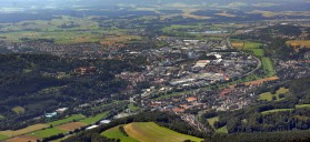 Blick auf die Kernstadt Kulmbachs (Foto: Hajo Dietz)
