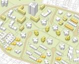 Frankfurt/Rhein-Main: Der Siedlungstyp des Massenwohnungsbaus bietet in den Abstandsflächen immer noch genug Platz, um das Quartier im Bestand zu bebauen.
