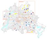 Berliner Planwerke: Übersicht der Planungsräume