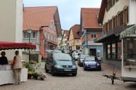 Scheidegg: Markt auf dem Kirchplatz