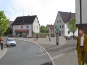 Hollfeld: Neugestaltung Spitalplatz mit veränderter Straßenführung