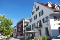 Tettnang: Wohnen im historischen und um moderne Geschosswohnungen ergänzten Stadtkern