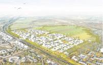 Oberbillwerder: Städtebaulicher Entwurf – Vogelperspektive