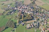 Winklarn: Schräguftbild Projektgebiet